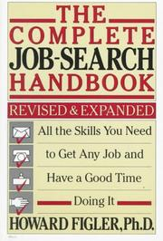 Cover of: The complete job-search handbook