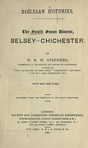 Cover of: The south Saxon diocese, Selsey-Chichester
