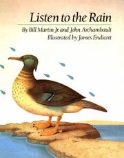 Cover of: Listen to the rain