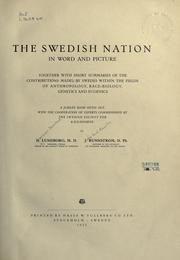 Cover of: The Swedish nation in word and picture | Herman Bernhard Lundborg