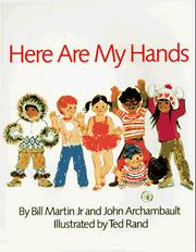 Cover of: Here Are My Hands (Owlet Book) | Bill Martin