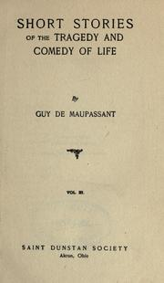 Cover of: [The  life work of Henri René Guy de Maupassant]