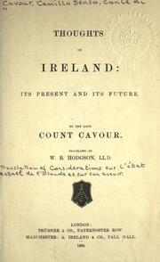 Cover of: Thoughts on Ireland