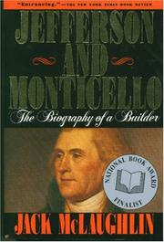 Cover of: Jefferson and Monticello