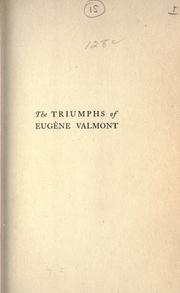 Cover of: triumphs of Eugène Valmont | Robert Barr
