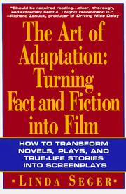 Cover of: The art of adaptation | Linda Seger