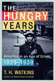 Cover of: The hungry years
