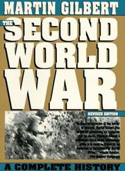 Cover of: The Second World War | Martin Gilbert