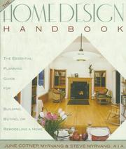 Cover of: The Home Design Handbook | June Cotner