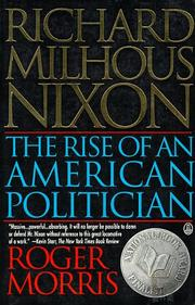 Cover of: Richard Milhous Nixon