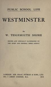 Cover of: Westminster
