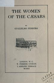 Cover of: The women of the Ceasars