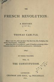 Cover of: Thomas Carlyle's works