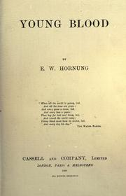 Cover of: Young blood | E. W. Hornung