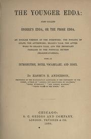 Cover of: The Younger Edda