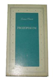 Cover of: Prozopoeme