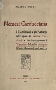 Cover of: Nemesi carducciana