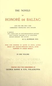 Cover of: Z. Marcas ; The other side of contemporaneous history | HonorГ© de Balzac