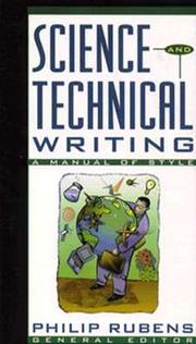 Cover of: Science and Technical Writing