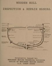 Cover of: Wooden hull inspection & repair manual. |