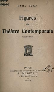 Cover of: Figures du théâtre contemporain
