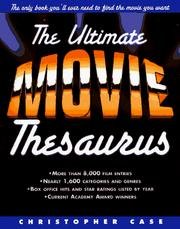 Cover of: The ultimate movie thesaurus
