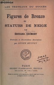 Cover of: Figures de bronze ou statues de neige