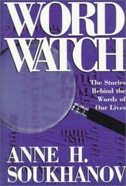 Cover of: Word watch