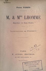 Cover of: M. & Mme. Lhomme