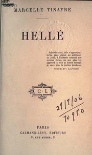 Cover of: Hellé