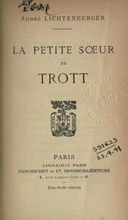 Cover of: La petit soeur de Trott