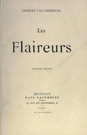 Cover of: Les flaireurs