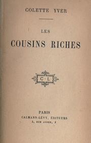 Cover of: Les cousins riches