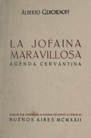 Cover of: La jofaina maravillosa