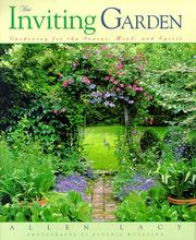 Cover of: The inviting garden | Allen Lacy