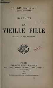 Cover of: La vieille fille