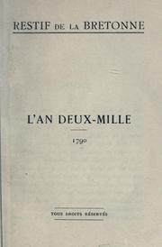 Cover of: L' an deux-mille