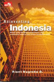 Cover of: Reinventing Indonesia