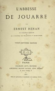 Cover of: L' abbesse de Jouarre