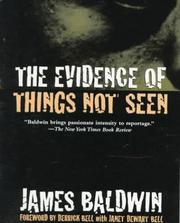 Cover of: The evidence of things not seen