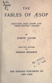 Fables by Aesop, Joseph Jacobs