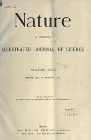 Cover of: Nature. |