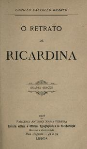 Cover of: O retrato de Ricardina