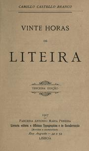 Cover of: Vinte horas de liteira
