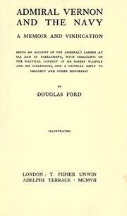 Cover of: Admiral Vernon and the navy | Ford, Douglas.