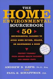 Cover of: The Home Environmental Sourcebook | Andrew N., Ph.D. Davis