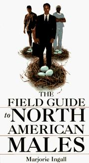 Cover of: The field guide to North American males