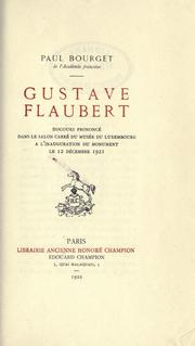 Cover of: Gustave Flaubert