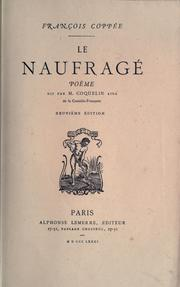 Cover of: Le naufragé