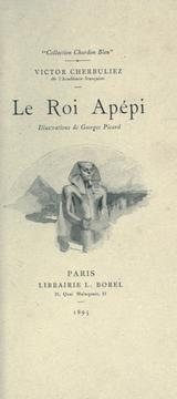 Cover of: Le roi Apépi